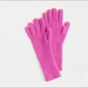 J. Crew Super Soft Ribbed Texting Gloves - NWT